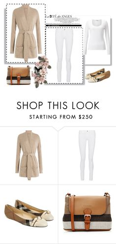 """Outfit # 3586"" by miriam83 ❤ liked on Polyvore featuring Closed, Frame Denim, Burberry and Jigsaw"