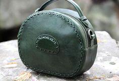 Handmade handbag purse leather crossbody bag purse shoulder bag for wo | EverHandmade