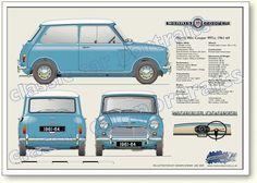 Morris Mini-Cooper 997cc 1961-64