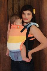 TULA Baby Carriers | Toddler Carriers — (Toddler Size) Half Wrap Conversion Tula Toddler - Girasol Snow Flame