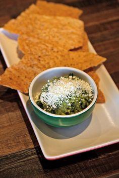 Heavenly. True Food Kitchen! Kale & Avocado Dip. @mirandacamille3 I found it!!!