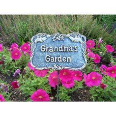 Incroyable Oakland Living Decorative Garden Marker Grandmas Garden Antique Pewter *  For More Information, Visit Image. Grandmau0027s GardenPlant SupportsGarden ...