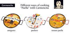 Instant Carmencita paella set options.