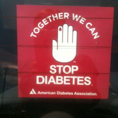 Down with diabetes