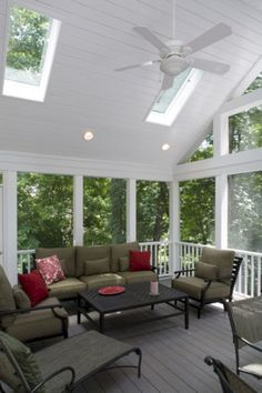 8 ways to have more appealing screened porch deck | porch and decking - Screened Patio Designs