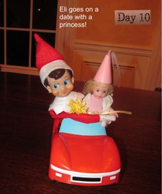 Ei the elf goes on a date with a princess