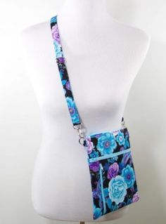 Zip Away Cross-body bag PDF #Sewing Pattern from Sewn Ideas Patterns