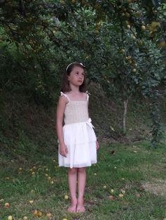 f17cad01e769e Vestido Odette de Lan Fairy Futura Hija, Vestidos De Comunión, Ceremonias,  Moda Infantil