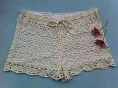 Ravelry: Cynthia - floral lace shorts pattern by Vicky Chan