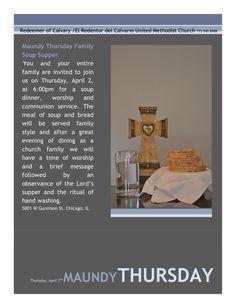 Redeemer of Calvary/El Redentor del Calvario United Methodist Church. 5001 W Gunnison St. Chicago, IL 60630 773 545 8989