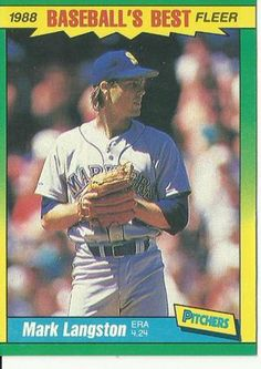 Free: 1988 Fleer Baseball's Best Mark Langston - Sports Trading Cards - Listia.com Auctions for Free Stuff