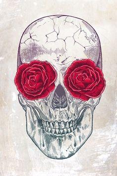 Skull by Rachel Caldwell.