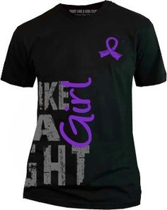 Get noticed in one of our best selling Fight Like a Girl shirts featuring grunge side-wrap text and yellow awareness ribbon to represent endometriosis, bladder cancer, sarcoma, and hydrocephalus. Endometriosis Awareness, Ovarian Cancer Awareness, Cervical Cancer, Endometriosis Tattoo, Breast Cancer, Thyroid Cancer, Shirts For Girls, Girl Shirts, Workout Fitness