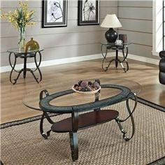 Acme Furniture Ingo 3Pc C/E Table Set