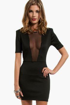 Hanelli Scuba Dress $40 at www.tobi.com