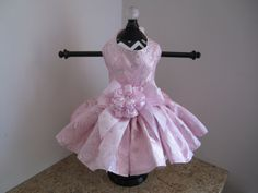 Hey, I found this really awesome Etsy listing at https://www.etsy.com/listing/195531952/dog-dress-xs-pink-with-silver-roses-by
