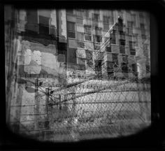 Holga... The city...