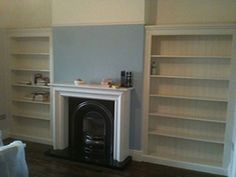 christy bird Double Fitted All Shelves Alcove Units, Painted