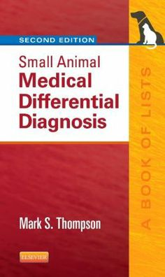 Small Animal Medical Differential Diagnosis, 2nd Edition is a practical, concise guide to the differential diagnosis, etiology, laboratory abnormalities, and classification of clinical signs and medical disorders in dogs and cats. By covering nearly every possible sign and clinical disorder relevant to small animal medical practice, this pocket-sized, rapid reference helps you make more reliable on-the-scene decisions.
