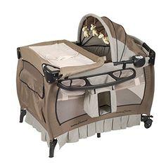Pack n Play Baby Trend - Nursery Playpen Playard, Deluxe bassinet canopy Music