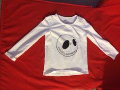 Girls and Boys Jack Skellington T-Shirt on Etsy, $15.00