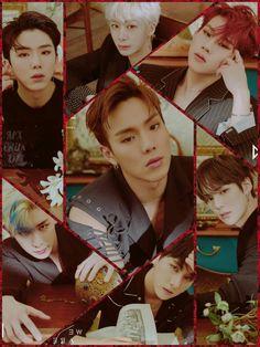 Lockscrean Monsta X Black 2 Hyungwon, Kihyun, Monsta X Wonho, K Pop, King Bee, Starship Entertainment, Kpop Groups, Pretty Cool, Anime