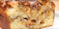 Country Apple Fritter Bread - Cooking TV Recipes - My WordPress Website Apple Desserts, Apple Recipes, Bread Recipes, Cake Recipes, Dessert Recipes, Cooking Recipes, Apple Fritter Cake, Baked Apple Fritters, Food Cakes
