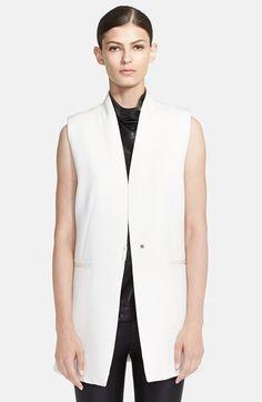 Helmut Lang 'Erosion' Long Vest available at #Nordstrom
