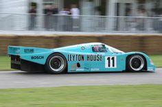 1987 Porsche 962 C Kremer Racing Leyton House Le Mans, Porsche 956, Porsche Cars, Sports Car Racing, Racing Team, Auto Racing, Gt Cars, Race Cars, Lemans Car