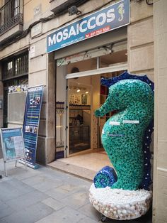 what better way to learn something new than to do it yourself? At Mosaiccos, you get to make your own ceramic art using the 'trencadis' technique Gaudí mastered. Kids can make their own treasure chests, photo frames, and more. There are glass pieces older children can break themselves, or pre-cut plastic pieces for the younger ones. Friendly owner Angelika speaks English, Spanish, and German.