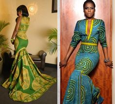 African Theme Wedding Gowns   ... African-themed bridesmaid dresses   Non-traditional Wedding