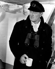 John Wayne proudly shows it's coffee time! John Wayne, Hollywood Men, Hollywood Stars, Classic Hollywood, George Clooney, Serge Gainsbourg, The Searchers, Actor John, Actrices Hollywood