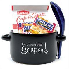 Nurse Appreciation Soup Mug Set for National Nurses Week #nurseappreciation #thankyougifts