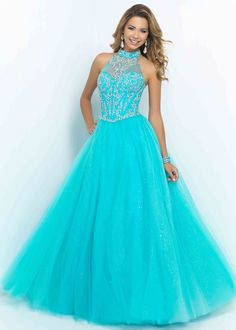 Blue Prom Dress Ideas