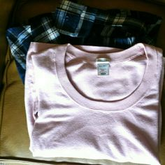 Old Navy Light Pink Sweater This has been sitting in my closet forever. It's lovely and pink and soft and comfy...but it's pink and that color isn't on my style palette per say. Only defect is a small softener stain as seen on the above photo. Old Navy Sweaters