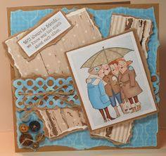 Art Impressions Girlfriends Under My Umbrella