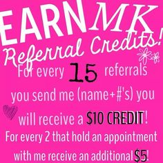 Great referral tip