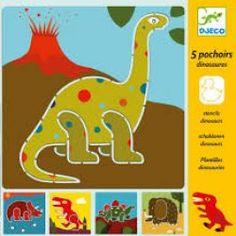 Djeco Dinosaurs Stencils is a fun small art and crafts gift for younger children.