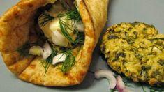 Ρυζομπιφτέκια με δυόσμο και φέτα Vegan Vegetarian, Vegetarian Recipes, Spanakopita, Baked Potato, Feta, Mashed Potatoes, Tacos, Mexican, Ethnic Recipes