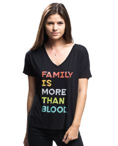 Family is more than blood - Just ordered this in long sleeve and grey
