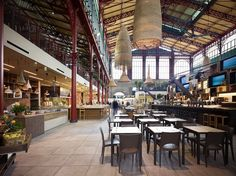 San Lorenzo Central Market, Florence, 2014 - Archea Associati