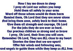 NAVY Mom prayer