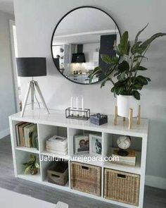 22 smart first apartment decorating ideas on a budget 00004 - Modern Home Living Room, Living Room Designs, Living Room Wall Decor, Nordic Living Room, Living Room Mirrors, Decor Room, Cozy Living, Living Area, First Apartment Decorating