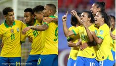 The Brazil women's team will earn as much as the men's team after CBF announced the changes on Thursday, becoming just the fourth nation to announce equal pay. Us Soccer, Soccer News, Sports News, Brazil Football Team, Brazil Women, Equal Pay, Tokyo Olympics, Live Tv, Neymar