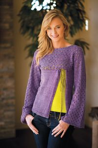 Wisteria Top from Love of Knitting - Spring 2014 Issue