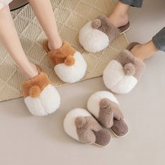 Loved by little ones everywhere, the Youth Corgi Plush Slippers comes in two versatile colors and one comfortable, foot warming design. Simply slip on and go, feet have never been warmer or more stylish! Winter Slippers, Cute Slippers, Corgi Plush, Apollo Box, More Cute, Cool Gifts, Slip On Shoes, Little Ones, Celebrations