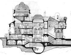 Galeria - Arte e Arquitetura: desenhos arquitetônicos que evidenciam o espaço do Eixo Z - 13