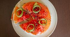 Торт салат суши слоями с красной рыбой