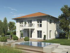 CityLife 500 - #Einfamilienhaus von WeberHaus GmbH & Co. KG | HausXXL #Stadthaus #Fertighaus #modern #Zeltdach