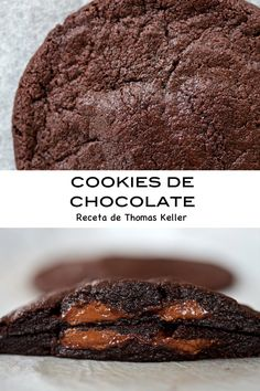 Cookies de chocolate, Thomas Keller (vídeo receta) – Tarthélémy Thomas Keller, Cuisine Diverse, Galletas Cookies, Sweet Tooth, Desserts, Food, Memes, Recipes, Chocolate Morsels
